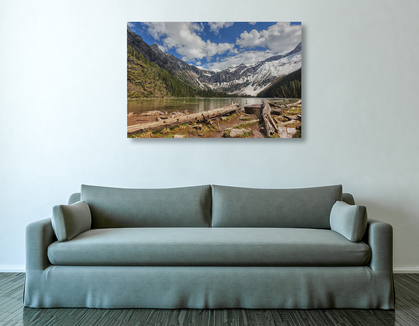 Avalanche Lake Canvas