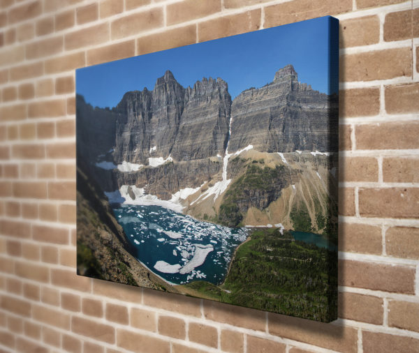 Iceberg Lake Canvas