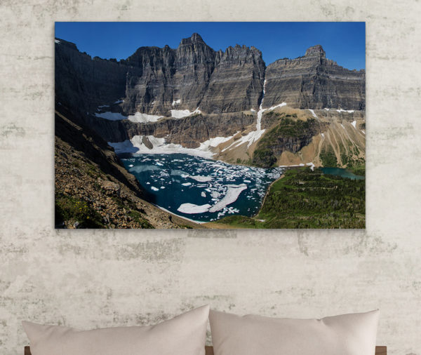 Iceberg Lake on Metal