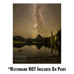 Pray Lake Milky Way Print