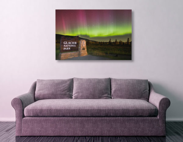 St Marys Aurora Canvas