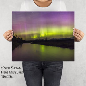 Camas Bridge Light Show Photo Print