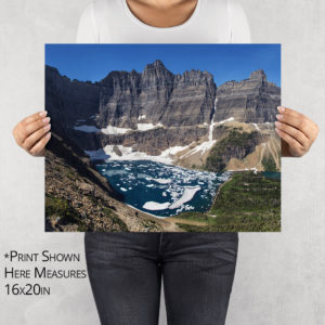 Iceberg Lake Photo Print