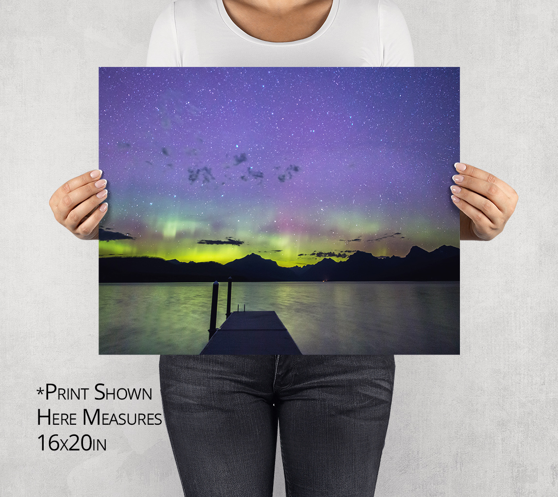 The Late September Light Show Photo Print