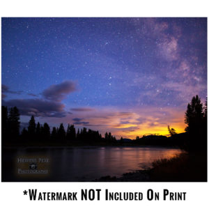 Milky Way Sunset Over the North Fork Photo Print