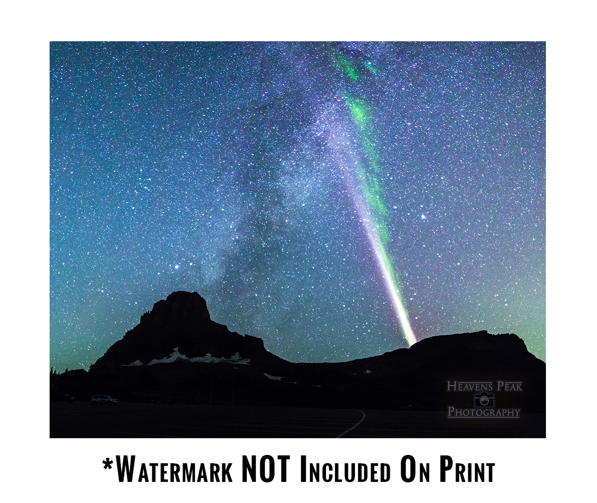 Proton Arc at Logan Pass Photo Print