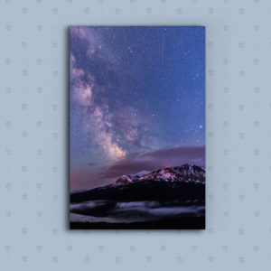 Scenic Point and the Milky Way on Metal